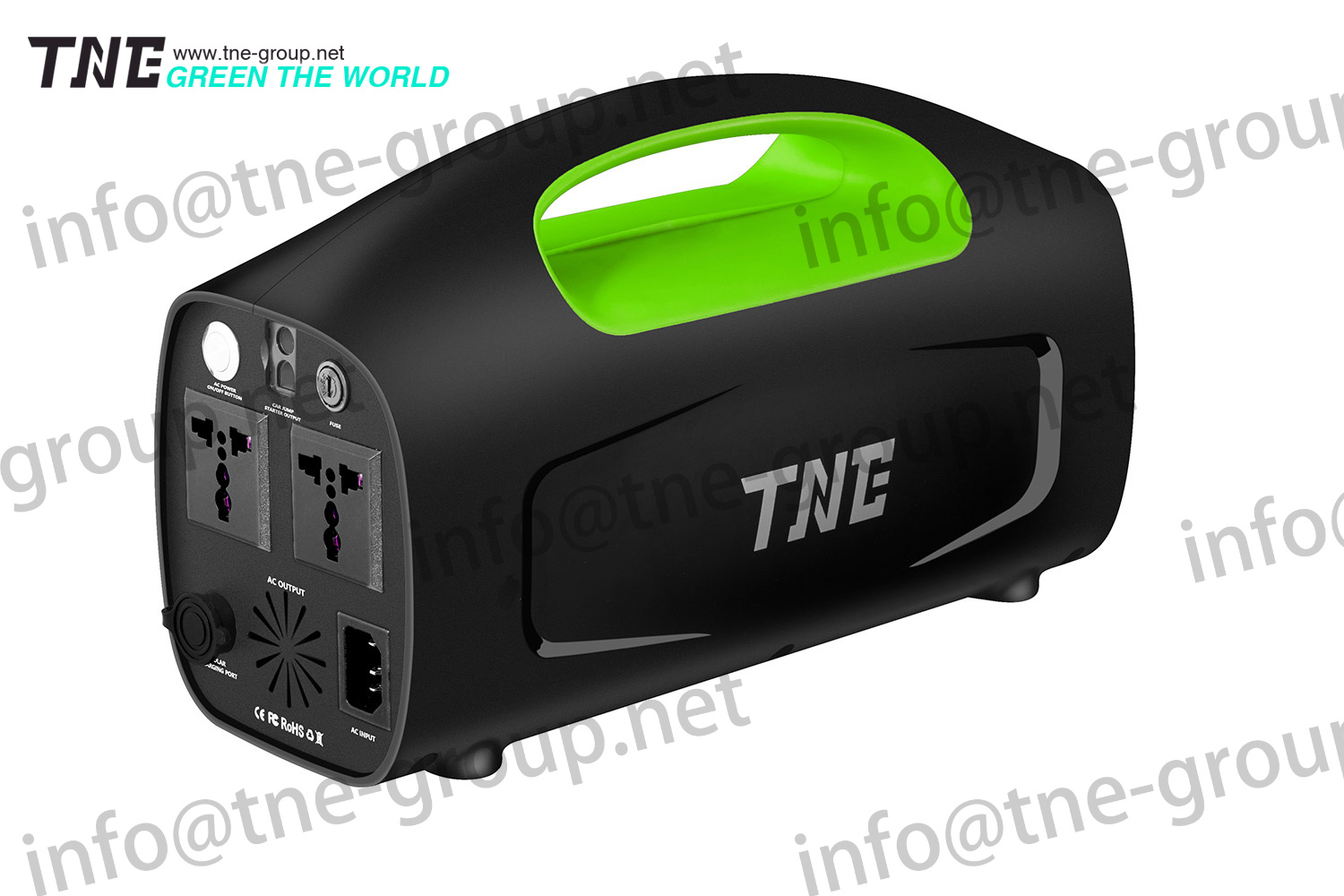 TNE 480VAC parallel redundency function back-up UPS for industry