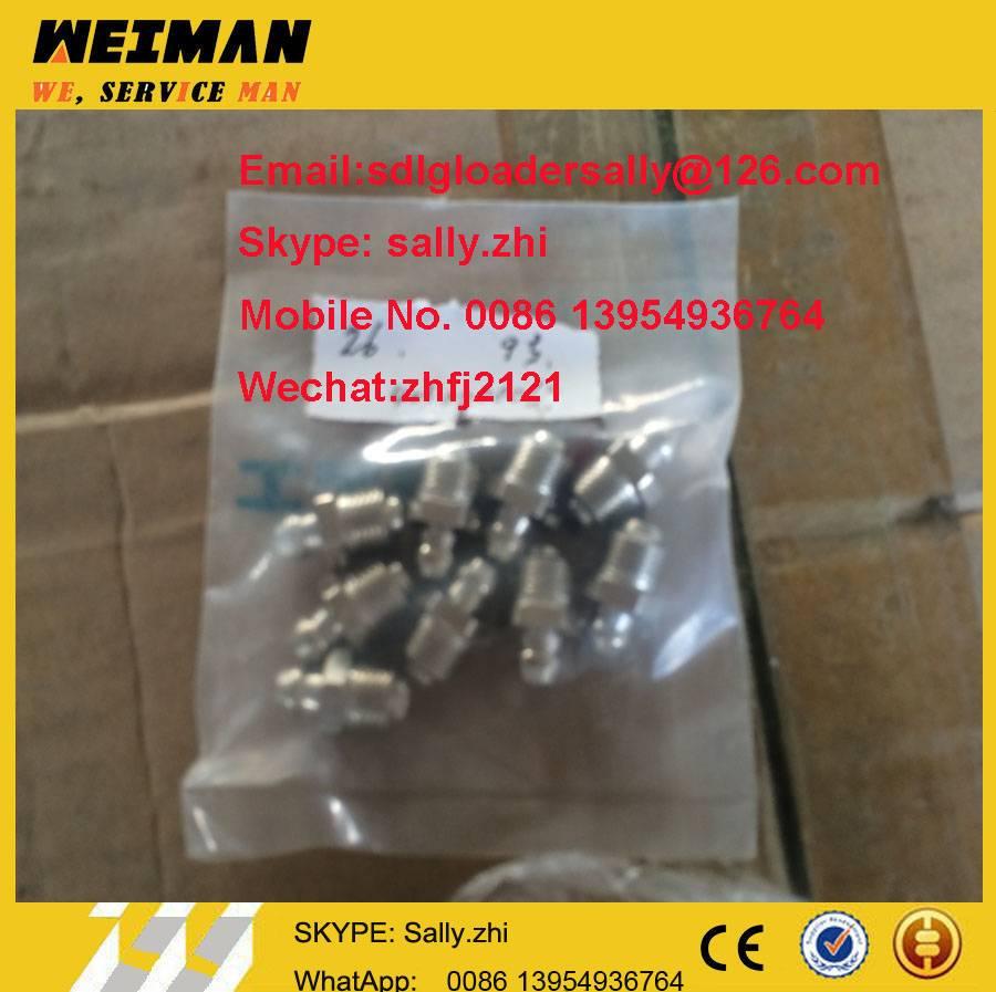 SDLG orginal grease nipple, 4030000065 with black colour for SDLG wheel loader LG956L