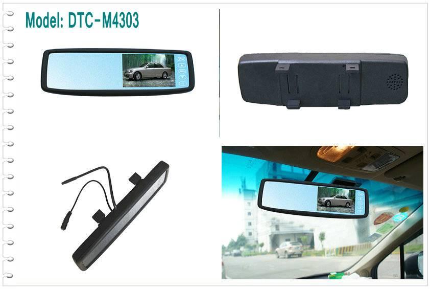 4.3 inch LCD Monitor Mirror