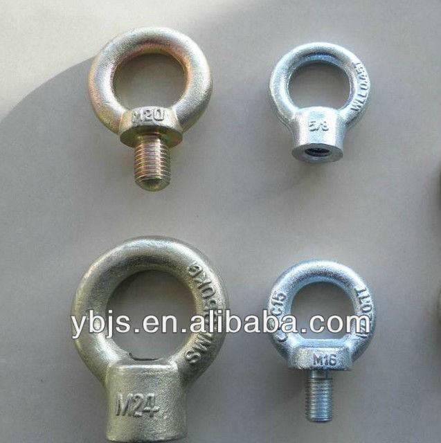 DIN580 eye bolt hot forging zinc plated