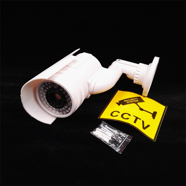 Waterproof Fake Dummy Camera Outdoor Indoor With Led Light Video Surveillance