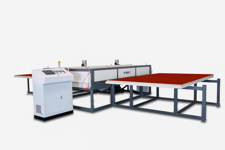 vacuum heating PDLC smart glass film EVA laminating machine