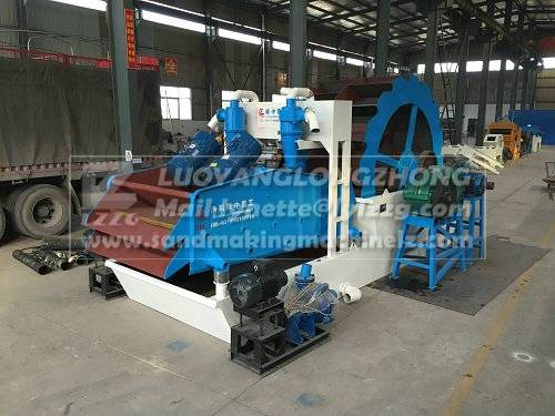 CE top sale washing and recycling sand