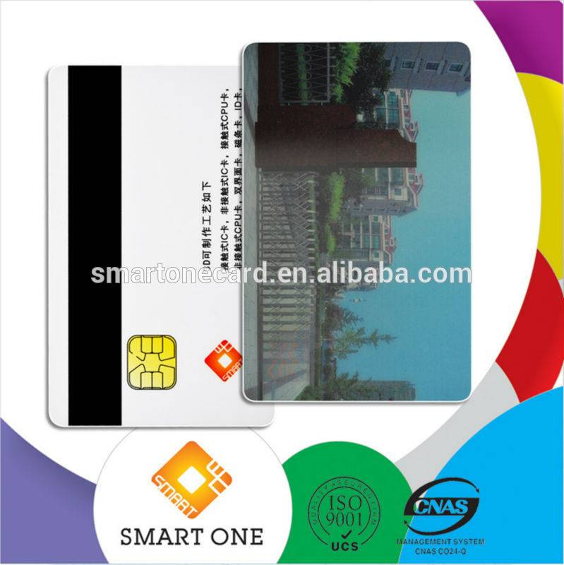 3D Plastic Business Cards , 3D Magnetic Cards With Chip