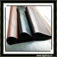 Dongguan Yuhua high quality embossed pu microfiber leather  wholesale  for leather sofa upholstery