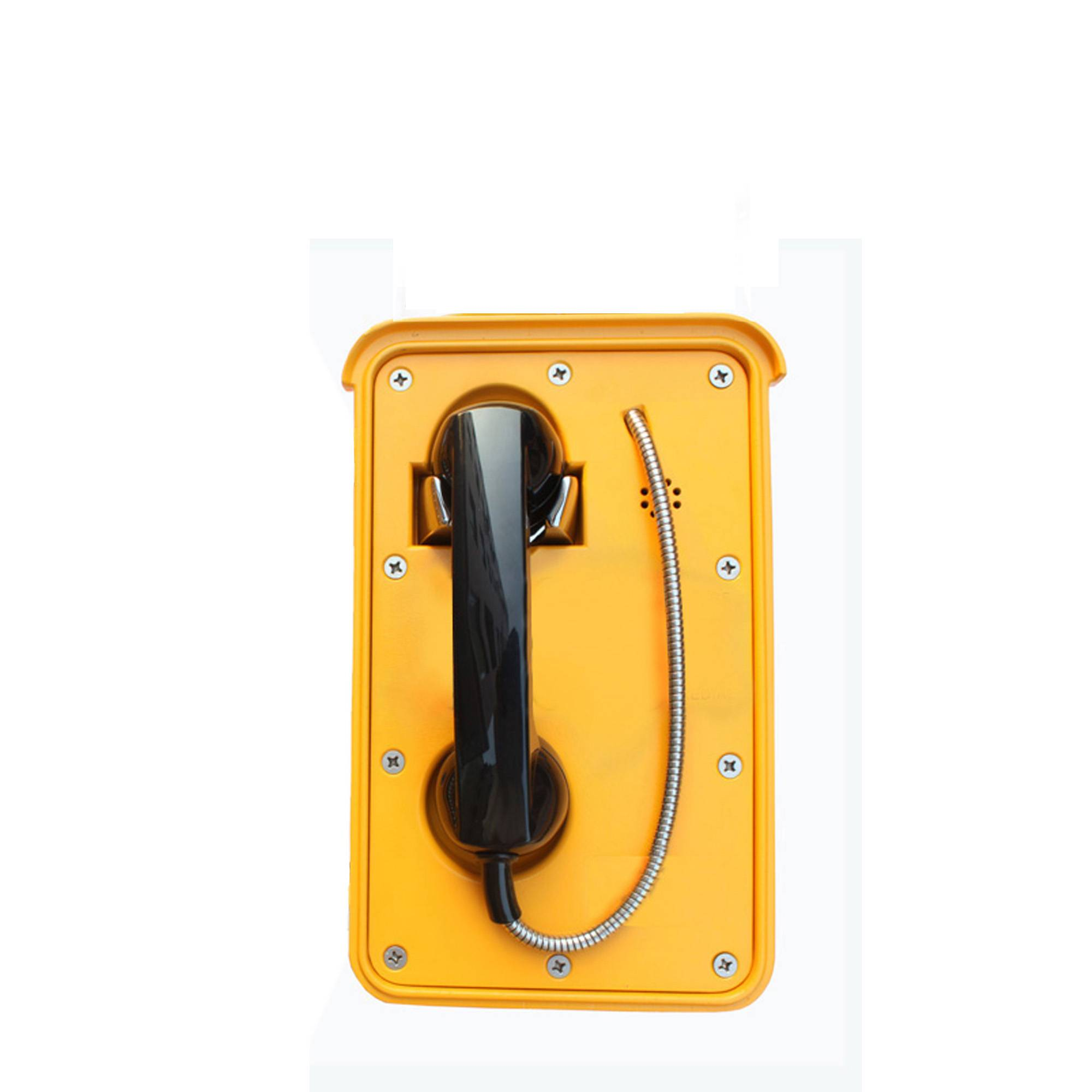 auto-dial waterproof telephone without dial pad