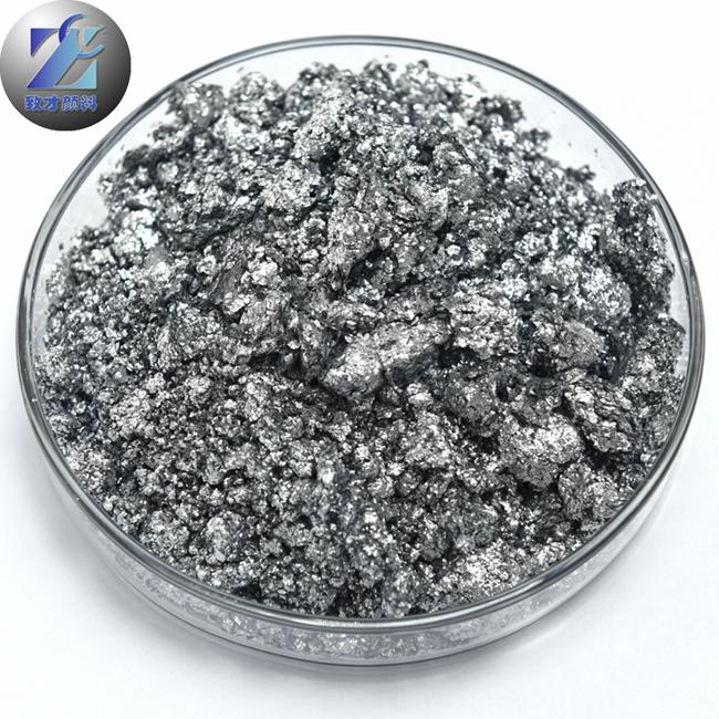 Aluminum pigment for metal coating good aluminum paste
