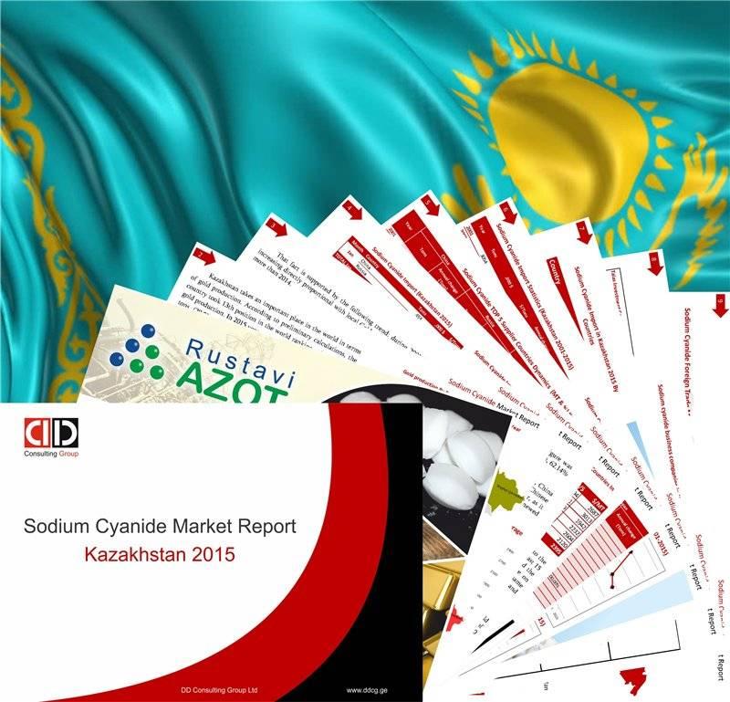Sodium Cyanide Annual Summery Market Report KAZAKHSTAN 2015
