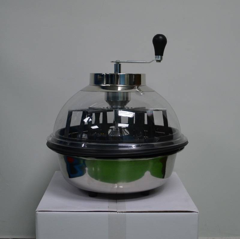 16 inch hydroponics clear hand-driven& motor-driven bowl leaf trimmer