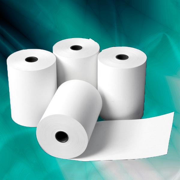 Coreless Thermal Paper Roll 57mm x 25mm, 200 Rolls/Box