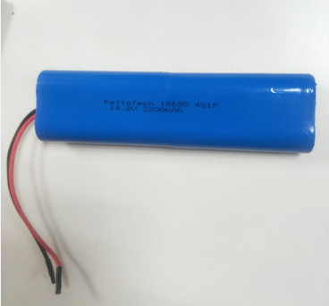 Rechargeable 4S1P li-ion 18650 battery pack 14.8v 2200mah For Medical device