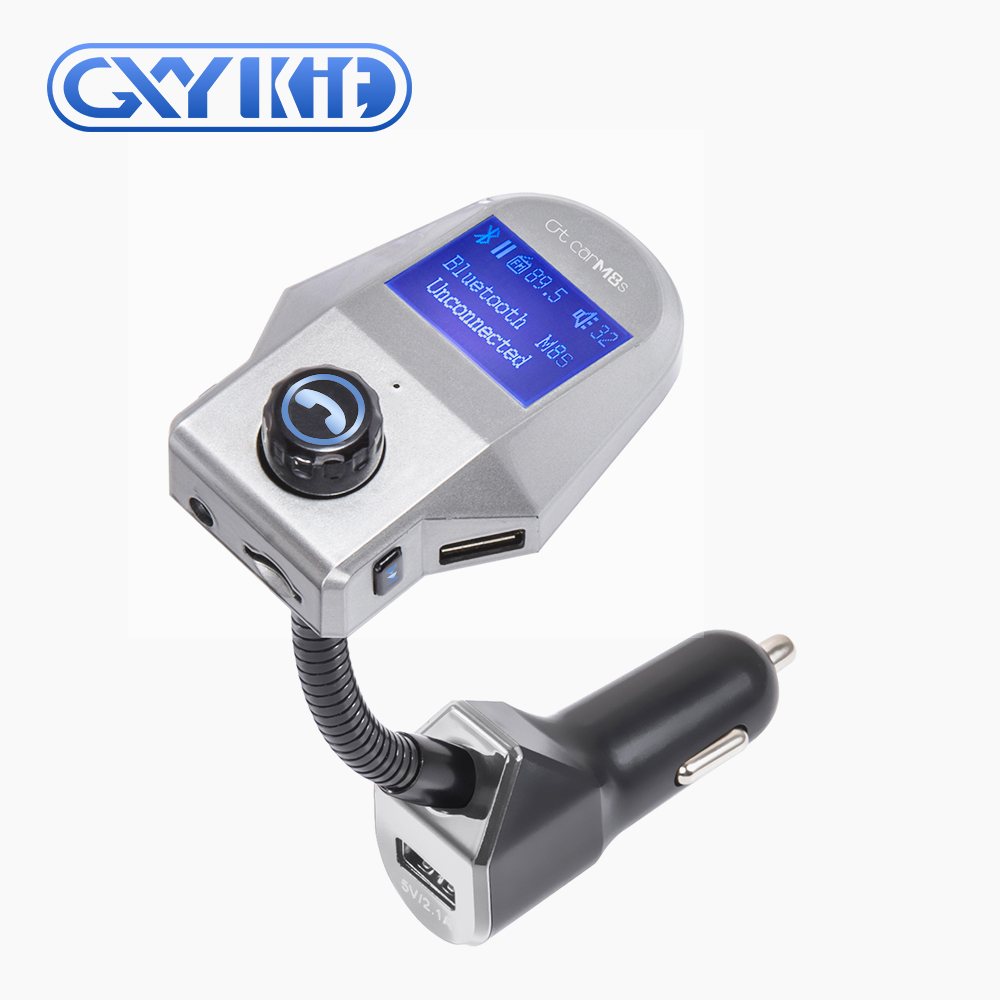 GXYKIT Wholesale T10 Bluetooth charger Car Stereo Bluetooth FM transmitter M8 Car MP3 Player