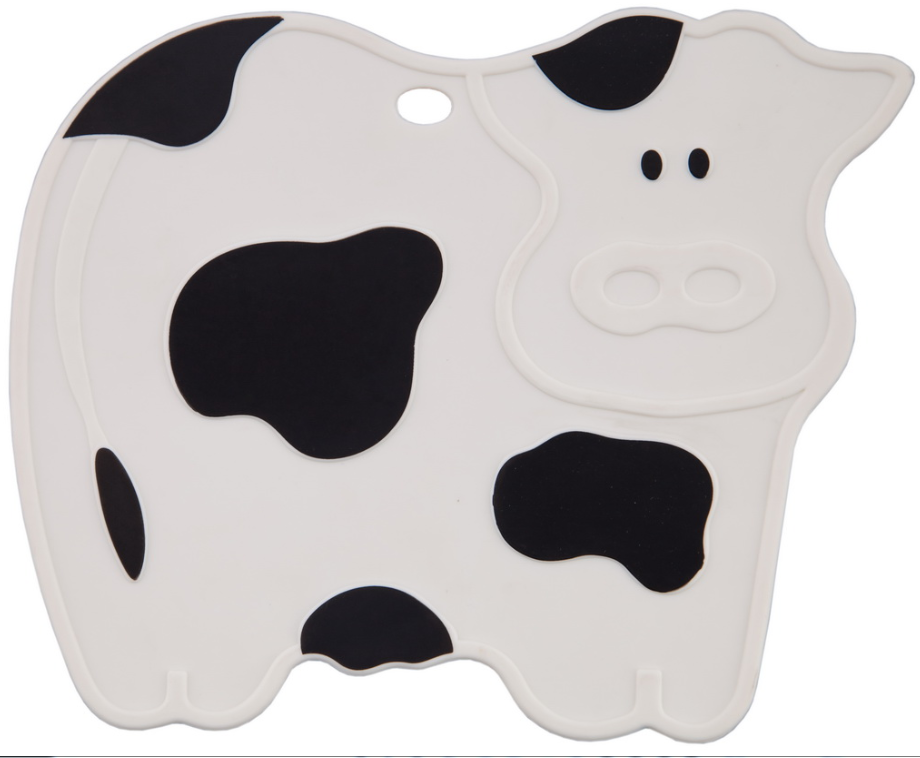 Silicone Pot Stand - Cow Printing