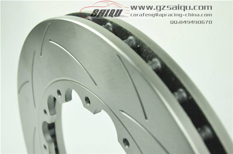 DICKASS Auto Brake Disc 355*32 T2 Curved Groove Surface