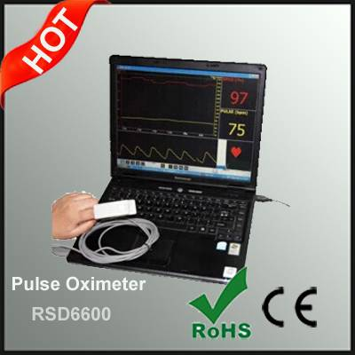 PC Based USB SPO2 Pulse Oximeter
