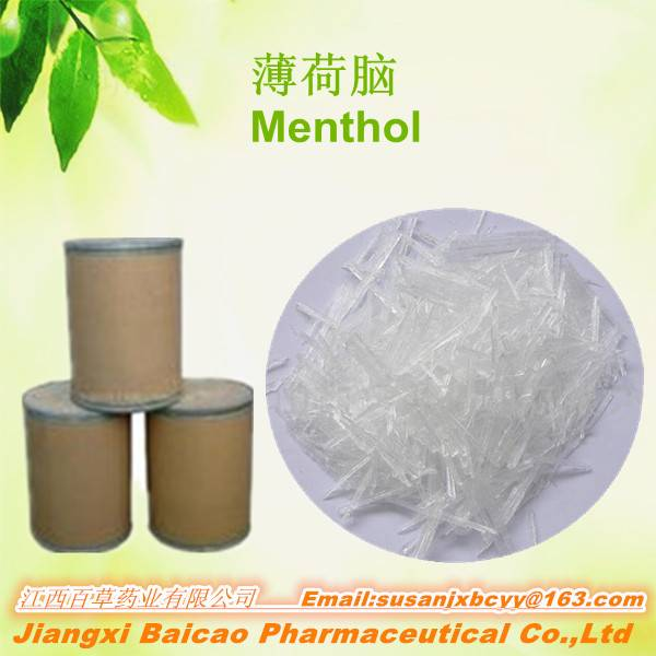 100% Natural and Pure  Levo Menthol From Profession Manufactory