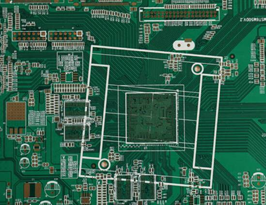 Immersion Gold 4 layers PCB