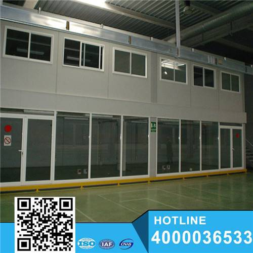 Customerized Size Prefab Shipping Containers 40ft