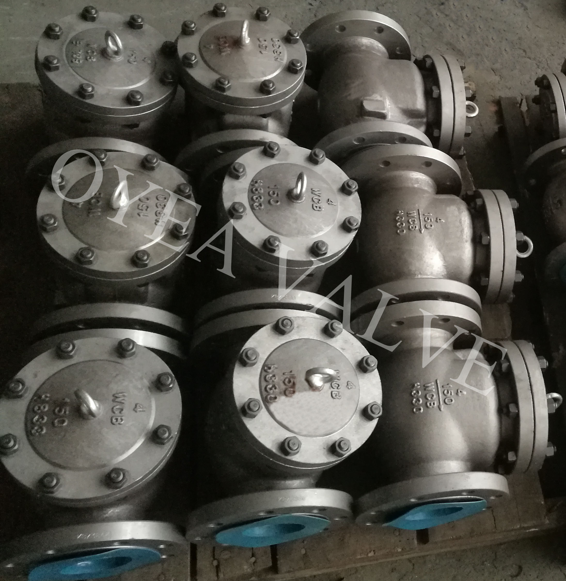 ANSI API Forged Steel Cast Steel Stainless Steel Flanged Weld Swing Lift Check Valve