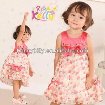 Little Girls Ball Gown Dresses,Pink Baby Dress