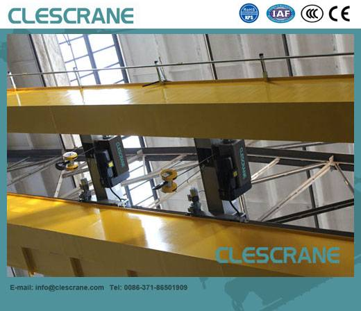 CHD Series top running double girder Overhead crane with electric hoist trolley