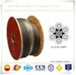 Oilfield wire rope Work over Line API- 9A certificate