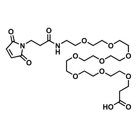 Maleimide-PEG8-propionic acid;Maleimide-NH-PEG8-CH2CH2COOH;CAS#1334177-86-4