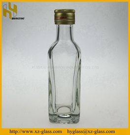 120ml manufacture glass wine bottle flint spirit liquor tequila glass bottle vodka