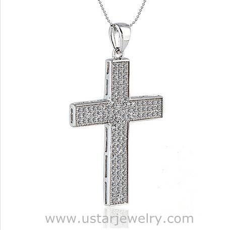 OEM Factory Price Fashion Necklace Cross Pendant Necklace