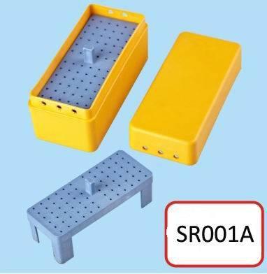72 Holes Dental Endo Box/Dental Bur Block/Dental Bur Holder