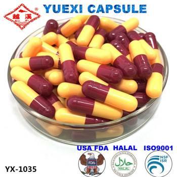Halal certificated empty gelatin capsule size 0