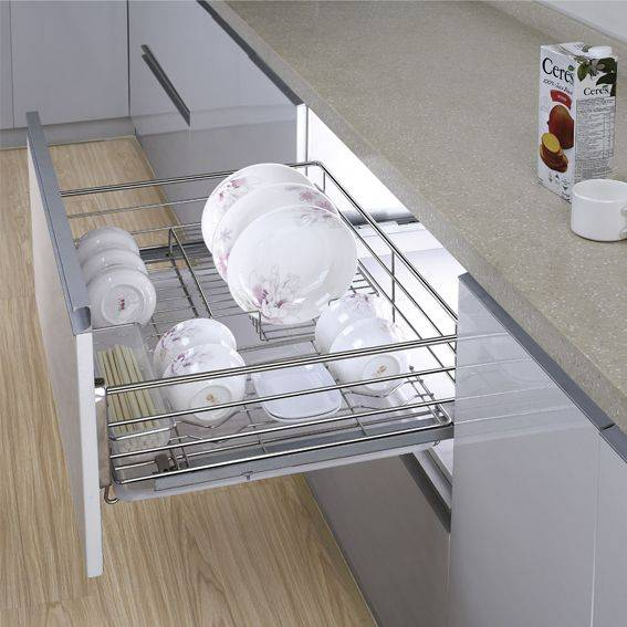 Multi-function Kitchen Drawer Basket for Dishes:170001702