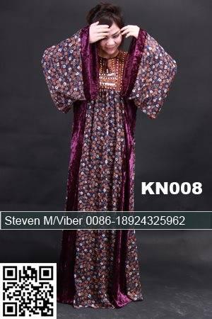 Cotton Patterns Abaya Beaded Plus Size Caftans Jalabiya