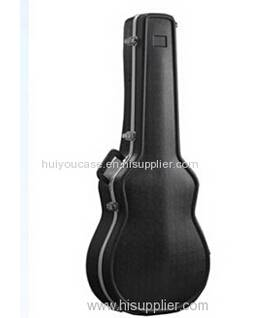Molded ABS Shaped Acoustic  Guitar Case
