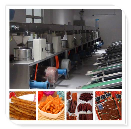 Automatic Wheat Flour Snack Production Line