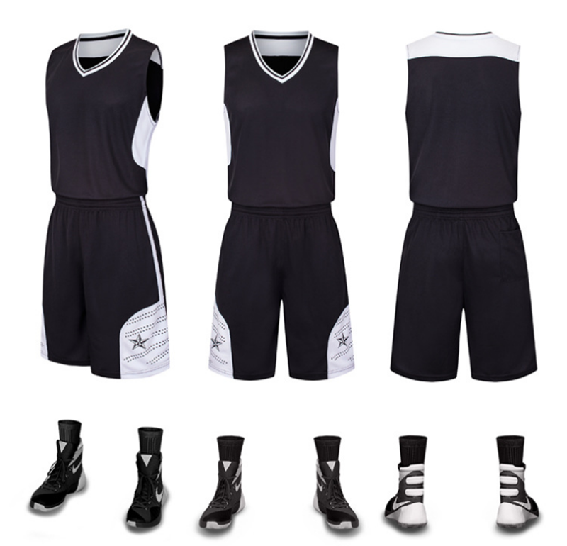 Wholesale Jersey Basketball League Basketball Jersey and Shorts Personalized Basketball Jersey