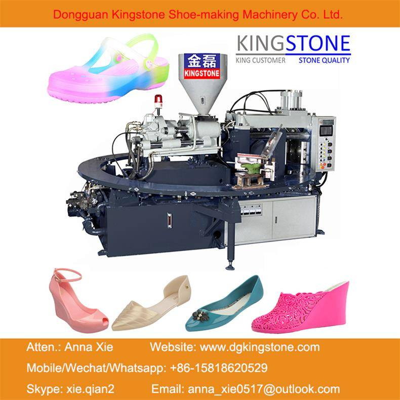 Plastic Jelly Shoes Injection Moulding Machine