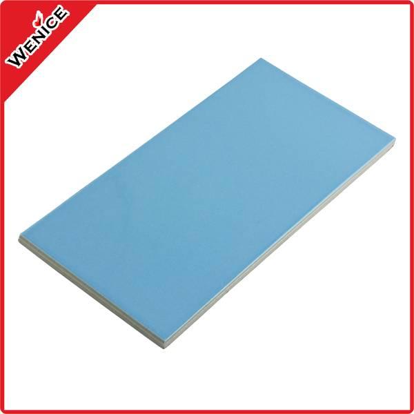 porcelain blue and black swimming pool tile 240*115*9