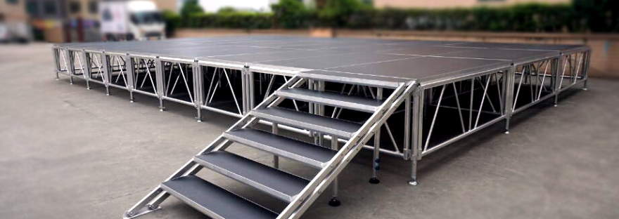 1.221.22M Easy Assemble Stage for concert event stage for outdoor performance