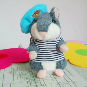 speaking hamsters toy/voice recording hamsters/repeat talking amsters