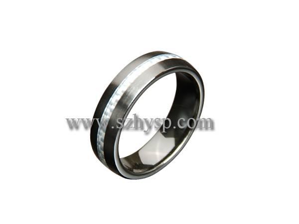 Ceramic Ring RICF004(carbon fiber inlaid)