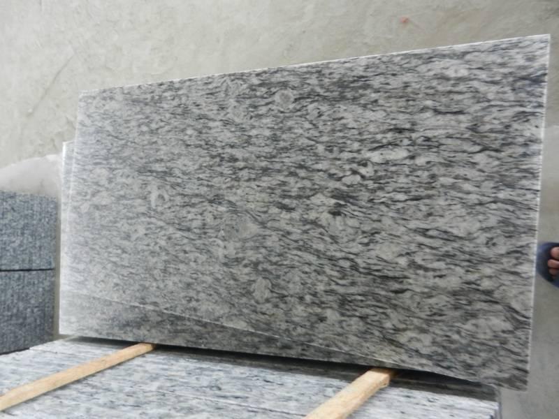 Grey Granite Tile ,Granite Slab,White Wave Granite