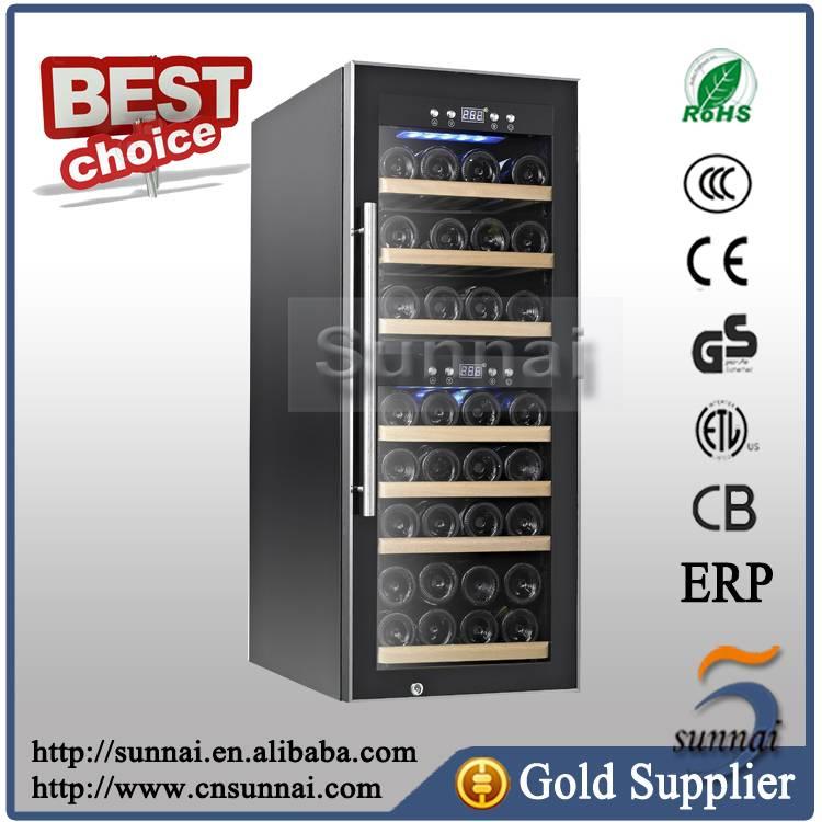 Digital Display Compressor Power Source Wine Cooler