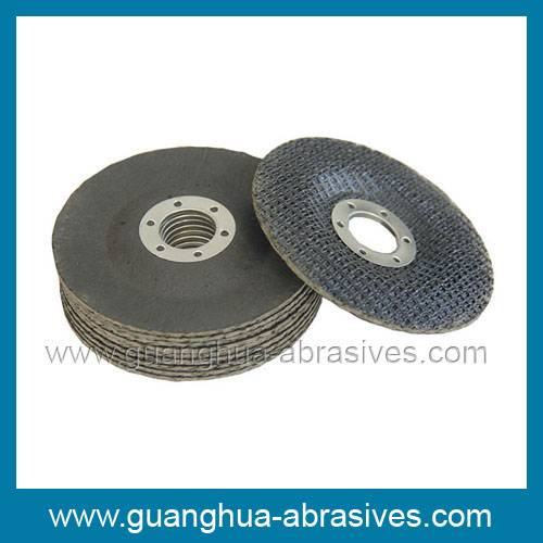 Fiberglass Backing Pads with Black Paper Surface