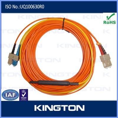 LC MM fiber optic patch cord