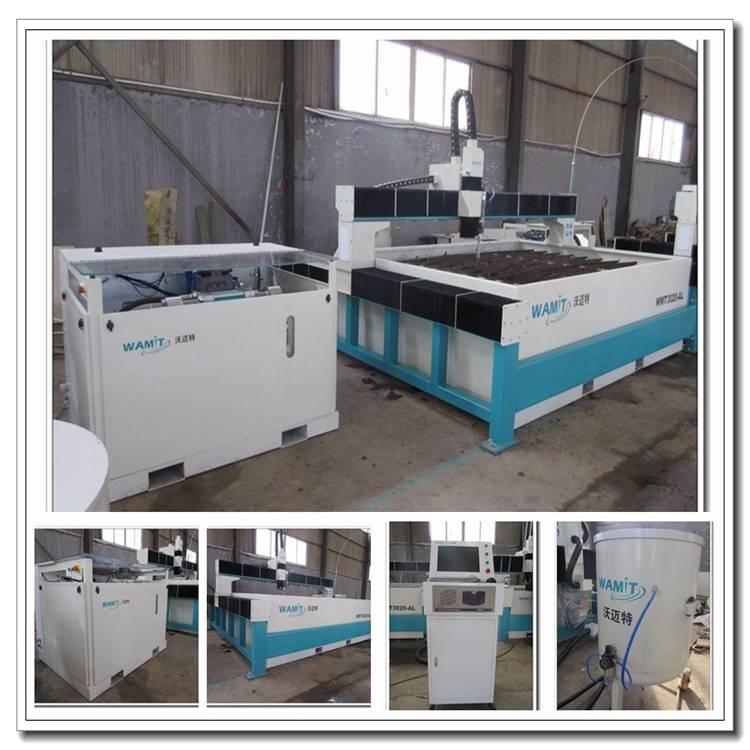 cnc high pressure 420mpa water jet tempered glass cutting machine price