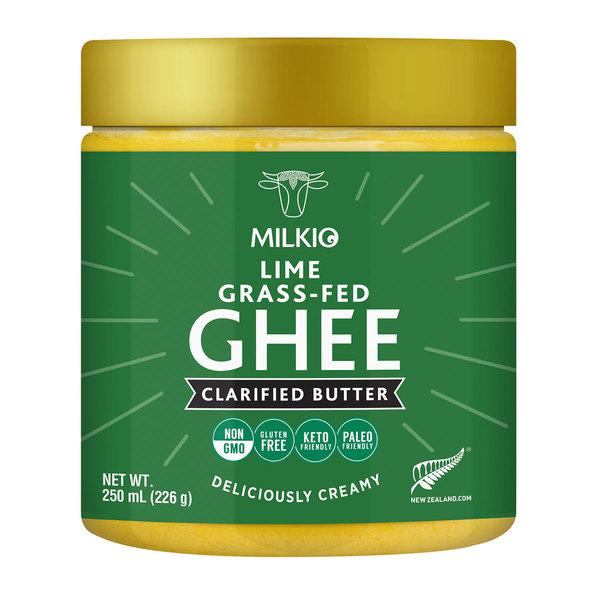 Milkio Lime Grass Fed Ghee
