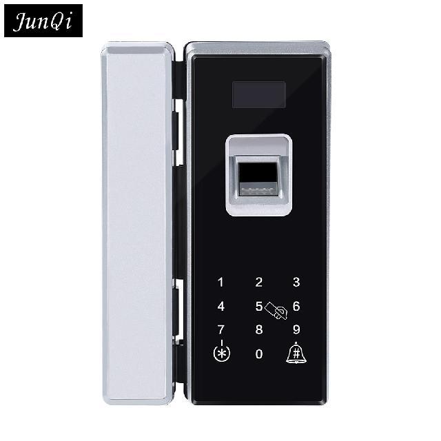 Smart Fingerprint Card Lock for Office Glass Door