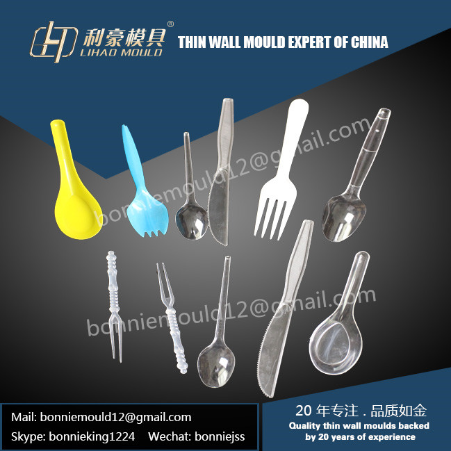 plastic take away tableware mould
