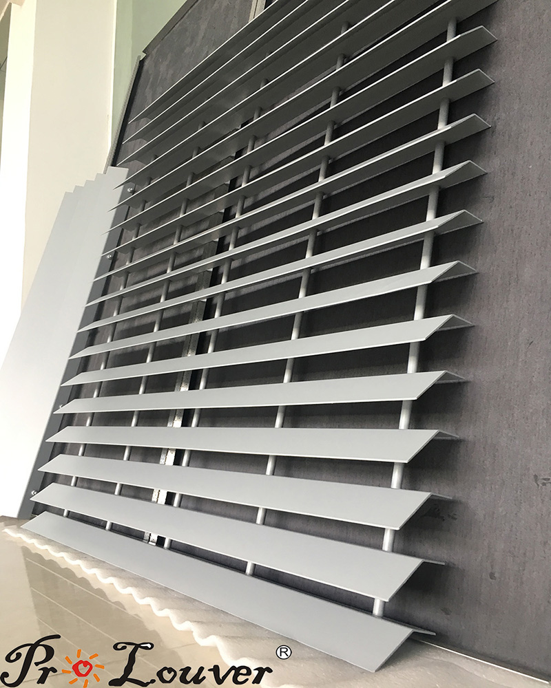 Outdoor louver, Parking Louver Screen, Aluminum panel louve
